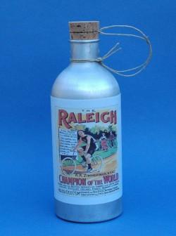 Bidon Raleigh en aluminium pour vélo ancien