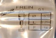 Cable de frein Velox pour vélo ancien 0.80m