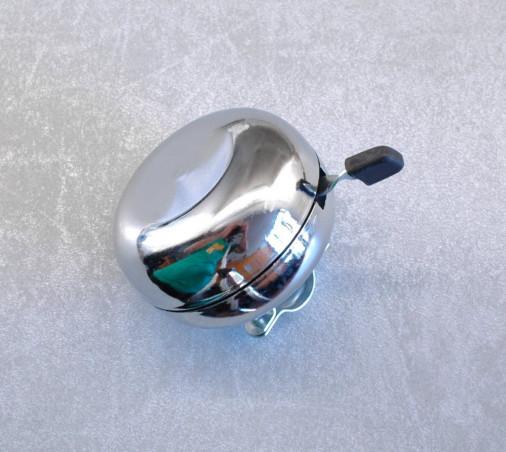 Vintage bell in chromed steel diameter : 80 mm