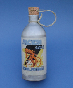 Alcyon water bottle vintage in aluminum