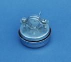 NOS Vintage bell in chromed steel
