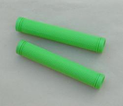 Poignée verte pour cintre course