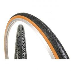 Pneu Michelin 650 x 35B  beige et noir World Tour (26X1 1 / 2 - 35-584) 650B