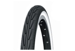 Pneu Michelin 500 A Diabolo Noir / Blanc mini velo vintage pliant 500 A