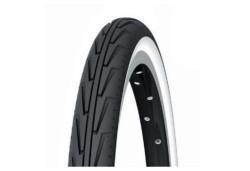 Pneu Michelin 600 A Diabolo Noir / Blanc mini vélo vintage pliant 600 A