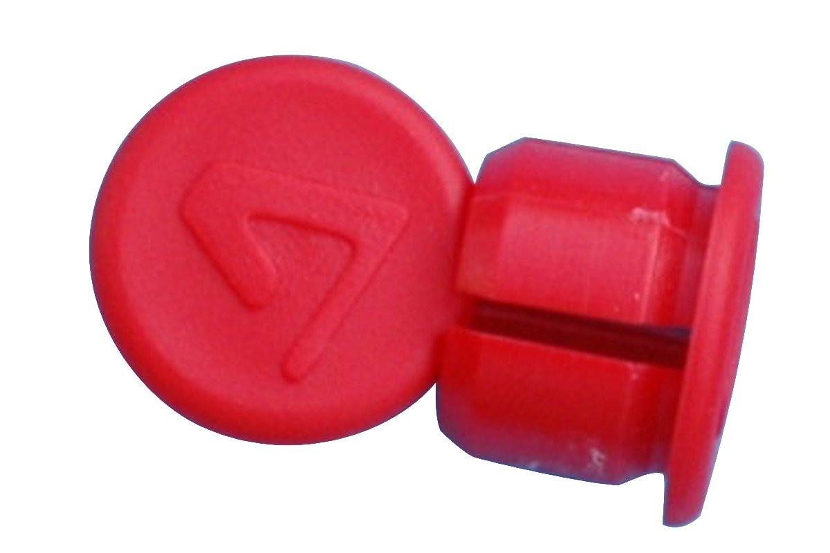 bouchons rouge embout pour guidon bouchons de cintre protection ruban. Black Bedroom Furniture Sets. Home Design Ideas