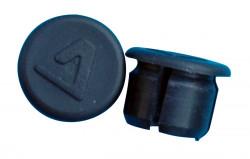 Bouchon en plastique noir pour cintre