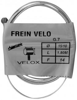 Cable pour frein Weinmann pour vélo vintage 1.80m