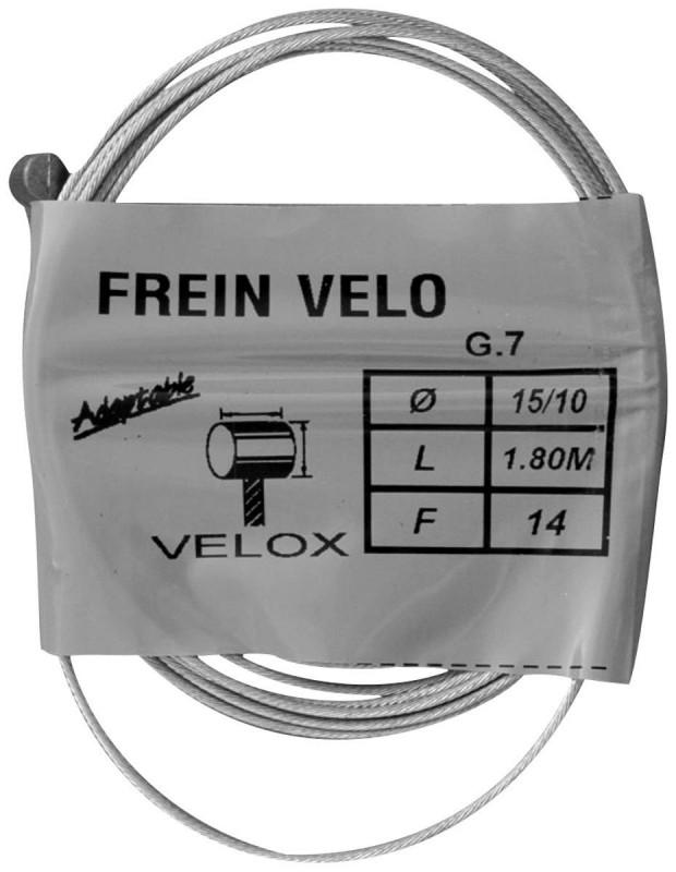 Cable pour frein Weinmann pour vélo vintage 1,80 m