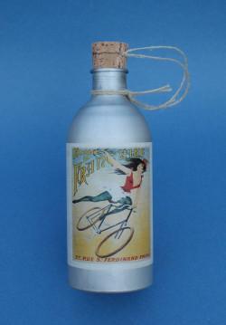 La Française water bottle vintage in aluminum