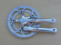 Pédalier double 52 42 dents 170 mm pour vélo vintage