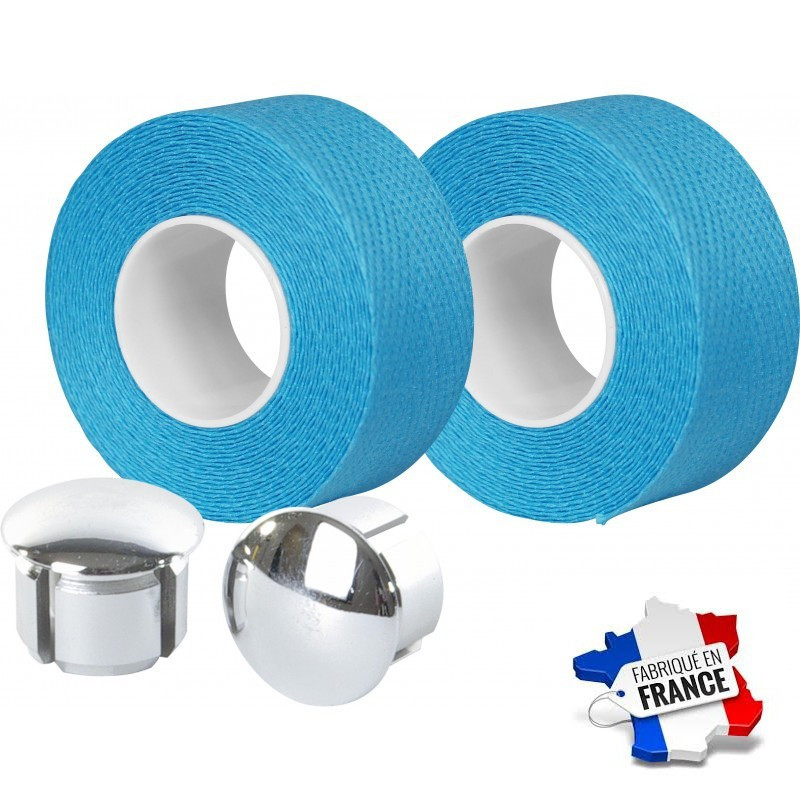 Guidoline Velox en coton bleue claire Bianchi Tressostar 90
