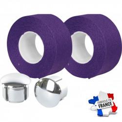 Guidoline Velox en coton violet Tressostar 90
