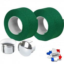 Guidoline Velox en coton vert foncé Tressostar 90
