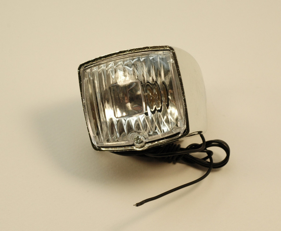 Front light for old bike 65x45x45 mm
