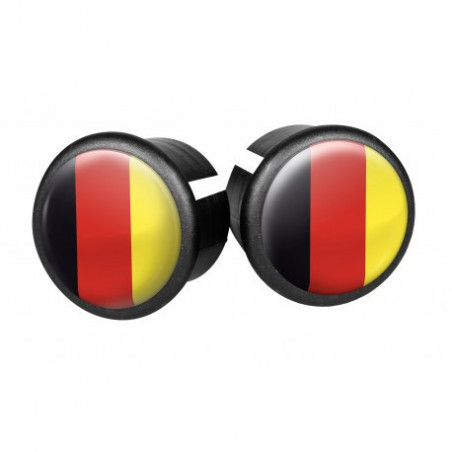 Bouchons embouts pour guidon VELOX ( Allemagne )