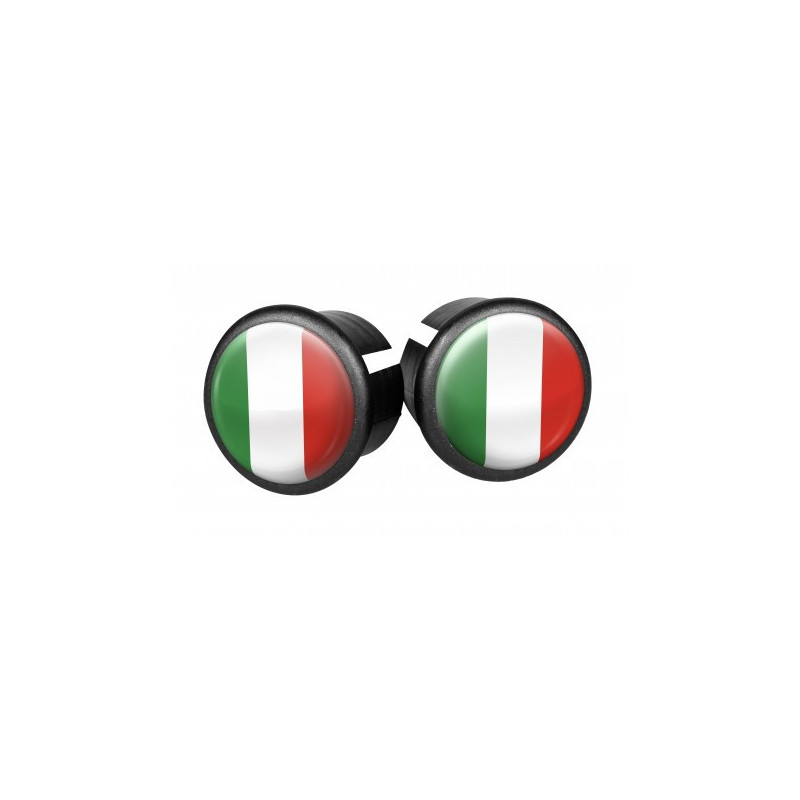 Bouchons embouts pour guidon VELOX ( Italie )