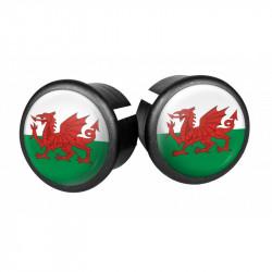 Bouchons embouts pour guidon VELOX ( Pays de Galles ) )