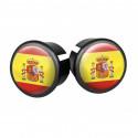 Bouchons embouts pour guidon VELOX ( Espagne )