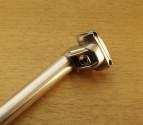 Tige de selle Atoo 25 mm L350 mm en aluminium