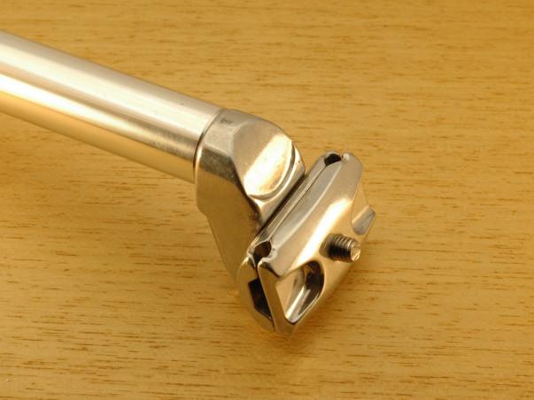 Tige de selle Atoo 25,2 mm L350 mm en aluminium