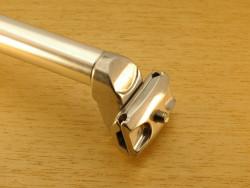 Tige de selle Atoo 25,6 mm L350 mm en aluminium