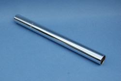 Seat post in chromed steel D 22 mm L250