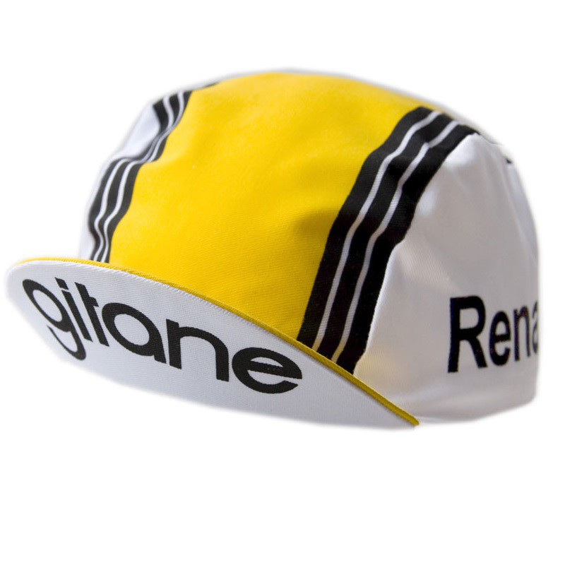 Casquette de l'équipe Renault Gitane