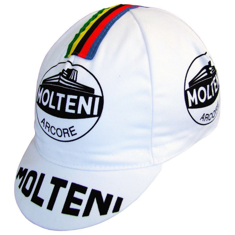 Cap of Molteni cycling team