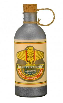 Bidon Bottecchia en aluminium pour vélo vintage