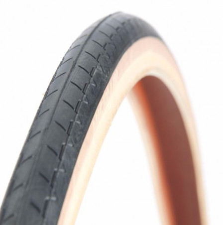 Pneu Michelin 700 x 25 beige / noir classic SW (25-622)