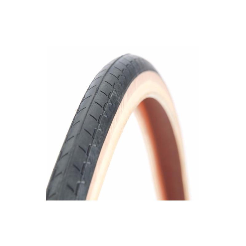 Pneu Michelin 700 x 23 beige / noir classic SW (23-622)