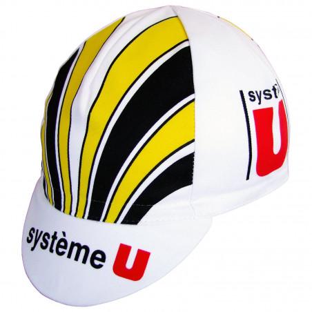 Casquette équipe Equipe System U de Laurent Fignon