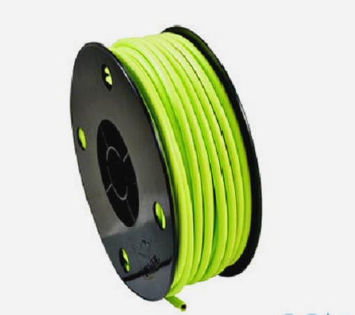 3 meters lined brake cable housing gren yellow