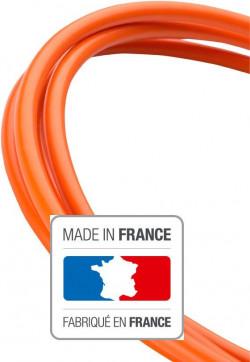 3 mètres de gaine orange au Teflon - auto-lubrifiée