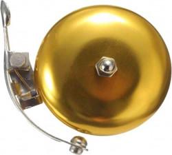 Classic retro golden bell