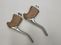 Brake levers for vintage racing bike