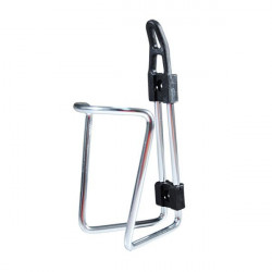 Zefal bottle cage water silver in aluminium