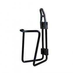 Porte-bidon vélo noir en aluminium