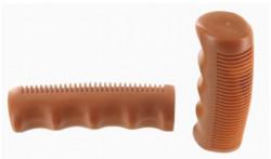 Handlebar grip for vintage bike color brown
