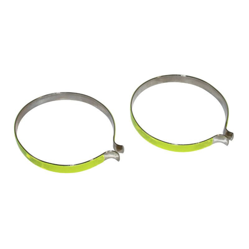 2 reflective troussers bands clip