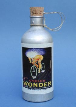 Bidon Wonder en aluminium pour vélo vintage