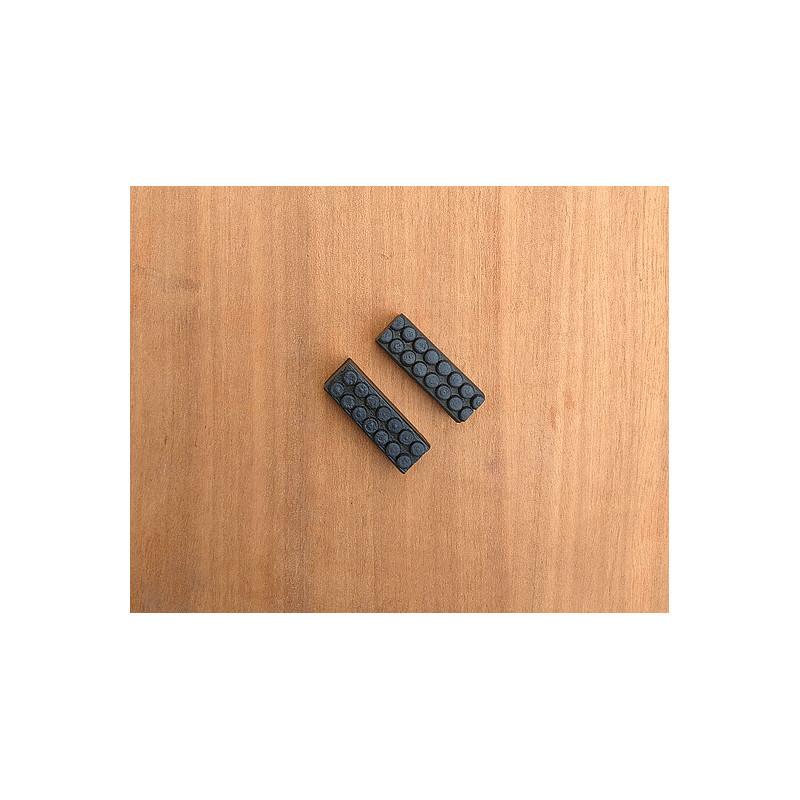 2 pads for steel rim n°2