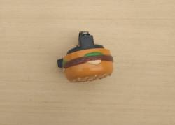 Hamburger bell for standard handlebars 22 mm