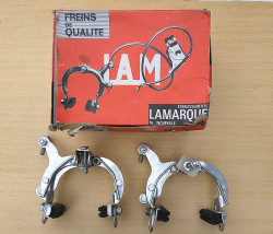 Front and rear calipers