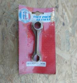 Brass tool for vintage bike repair