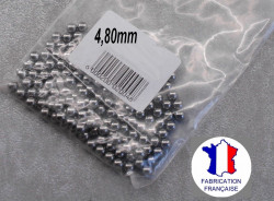 35 steel chromed ball diameter: 4,80 mm