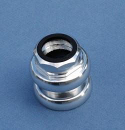 "Jeu de direction aluminium 25,4 mm 1 pouce 1"" filetage anglais"